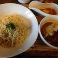 Photos: カレーつけ麺+1辛@華麺・倉敷市