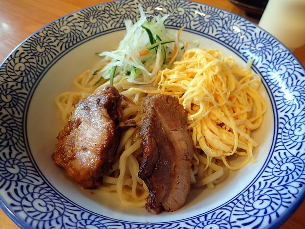 自家製麺の冷やし中華@頂美作店・美作市
