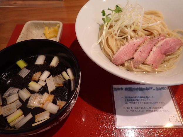 極上 岩手鴨だし昆布水淡麗つけ麺@ぐり虎本店・岡山市北区