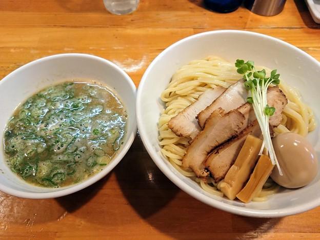 半熟煮たまごつけ麺(中)@烏城・岡山市北区