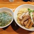 Photos: 半熟煮たまごつけ麺(中)@烏城・岡山市北区