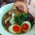 味玉醤油@鶏白湯らーめん Cock O Noodle Do・津山市