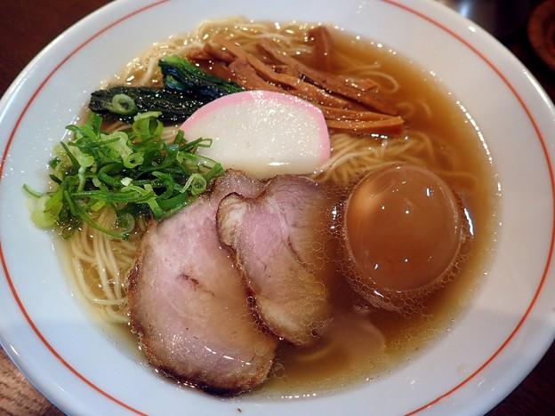 塩そば+味つけ玉子@ながくら・江東区住吉