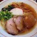 Photos: 塩そば+味つけ玉子@ながくら・江東区住吉
