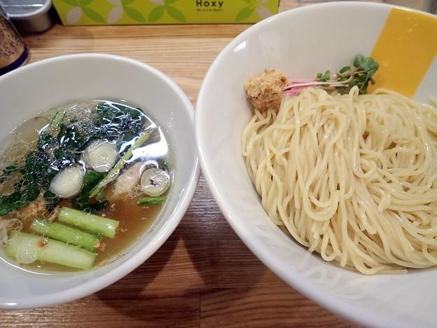 塩生姜つけ麺@MANNISH亀戸店・江東区亀戸