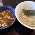 Photos: ゆず香塩つけ麺・並盛@麦の香・新宿区早稲田