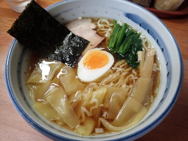 ワンタン麺@○政・江戸川区平井