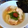 冷たい昆布の塩らー麺@昆布の塩らー麺専門店MANNISH・台東区蔵前