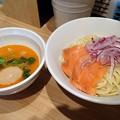 Photos: 鮭味噌つけ麺~西京味噌仕立て~+味玉@ビリケン・台東区浅草