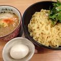 Photos: 背脂生姜醤油+だし味玉@桃の木・新宿区新宿御苑