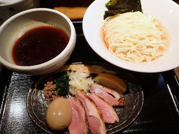 特製鴨出汁醤油つけ麺・中盛り@麺屋yoshiki・葛飾区新小岩