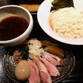 Photos: 特製鴨出汁醤油つけ麺・中盛り@麺屋yoshiki・葛飾区新小岩