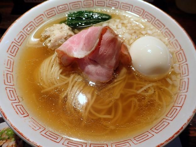 煮干しラーメン+味玉@小池・世田谷区上北沢