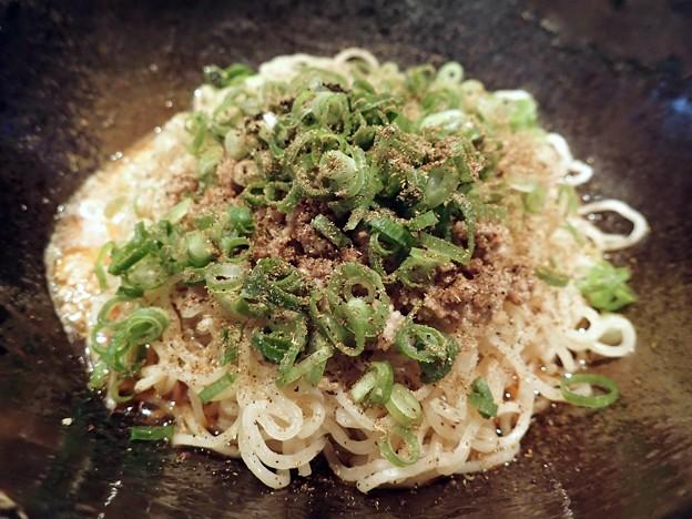 汁なし担担麺・3辛・大盛@キング軒東京店・港区芝公園