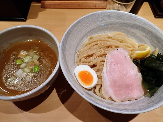 濃厚塩つけ麺@道・葛飾区亀有