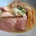 Photos: 特製鶏ゅ白湯塩らーめん@ど・みそ鶏・中央区宝町