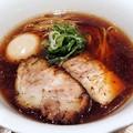 Photos: 醤油らぁ麺+味玉@嶋・渋谷区西新宿五丁目