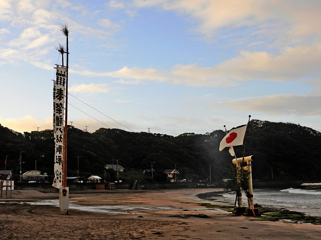 祭の浜01