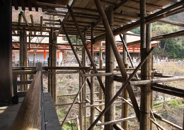 写真: 京都、清水寺(2)改修工事 H29,4,5