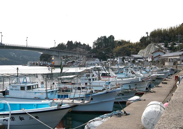 港の風景(1)登具湾 H30,2,15
