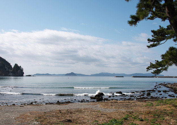 都万の風景(3)塩の浜 H30,2,18