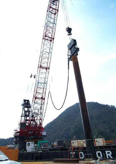突堤拡張工事(1)H30,3,12
