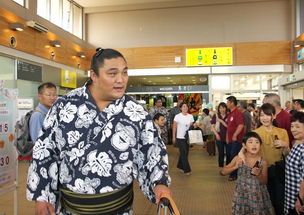 大相撲八角部屋隠岐合宿(1)H30,7,25