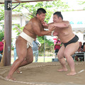 大相撲八角部屋隠岐合宿(8)H30,7,26