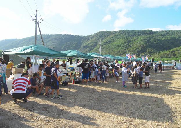 写真: 夏の花火祭りin五箇(1)H30,8,11