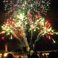 写真: 夏の花火祭り(7)H30,8,11