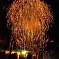 写真: 夏の花火祭り(8)H30,8,11