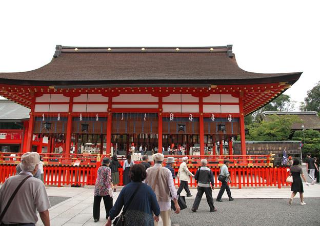 伏見稲荷大社(3)外拝殿 H30,9,25