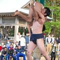 五箇地区相撲大会(10) 親子取り組み(2)H30,11,3