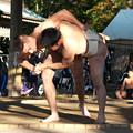 五箇地区相撲大会(13) ポーランド力士との取り組み(2)H30,11,3