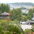 銀閣寺(4)展望所からの眺め H30,11,21