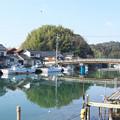 八尾川風景(1)