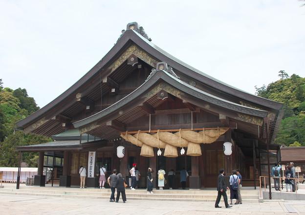 出雲大社(9)拝殿