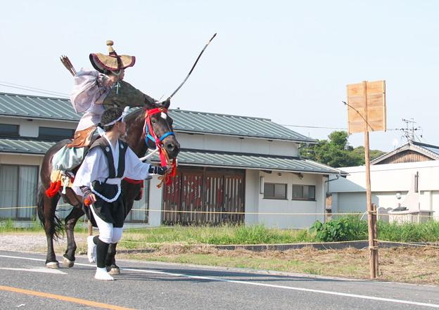 玉若酢命神社風流(15)流鏑馬