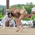 全隠岐相撲選手権大会(5)中学生の部