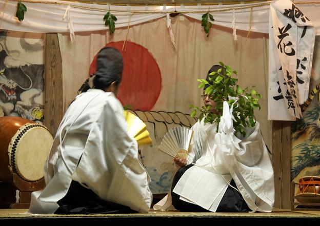 久見神楽・花舞(2)