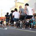 Photos: 夏まつり(13) 縄跳び競争 一般男子チーム