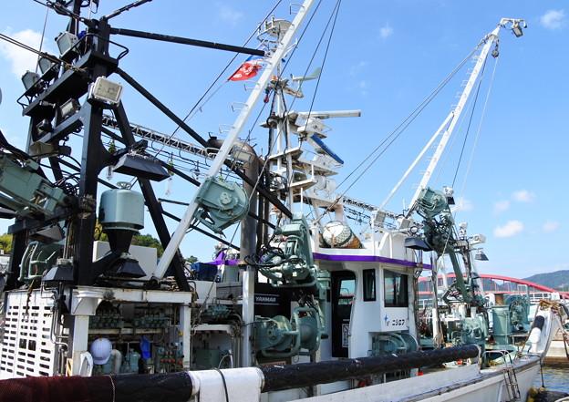 港の風景(39) 巾着網本船(3)