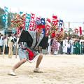 Photos: 二歩方(八王子神社)の大どう打ち、 武良祭り(2)