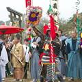 武良祭り(3-2)、 一歩方(月の神・一之森神社)の行司