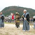 Photos: 武良祭り(4-2)、二歩方(太陽の神・八王子神社)の行司