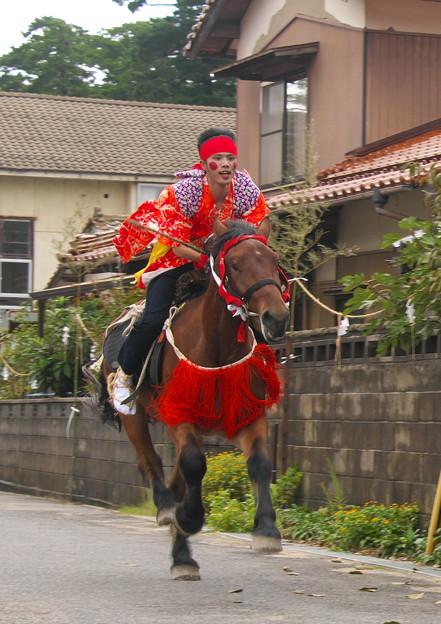 武良祭り(9)、騎馬神事