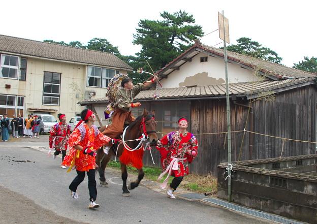 武良祭り(10)、流鏑馬神事