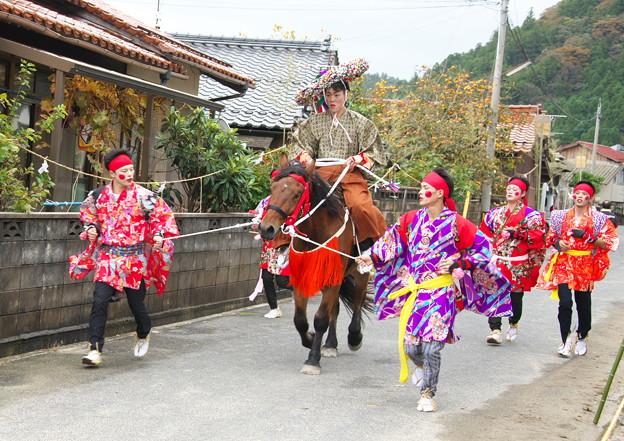 武良祭り(11)、流鏑馬神事