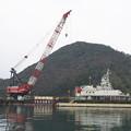 Photos: R2.2.14 クレーン船(1)