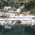 登具湾の雪景色(2)